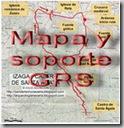Mapa y soporte GPS - Mirador de Zamariain - Garaioa