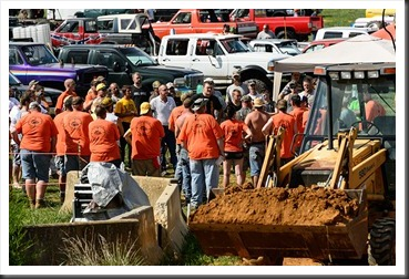 Hot as a Mudder Mud Bog Drivers Meeting
