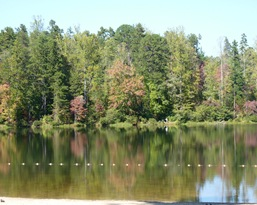 Lake Powhatan NC C.G Beach