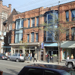 queen street in Toronto, Ontario, Canada