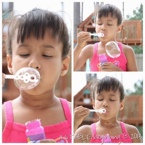 bubble collage