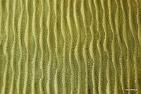 Ekskluzywna tkanina marszczona o bogatej teksturze. Na zasłony, poduszki, narzuty, dekoracje. Zielona.
