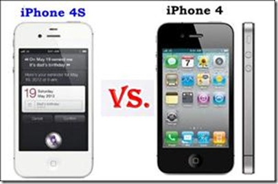 Difference Between iPhone 4S and iPhone4