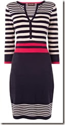 Phase Eight Block Stripe Dress