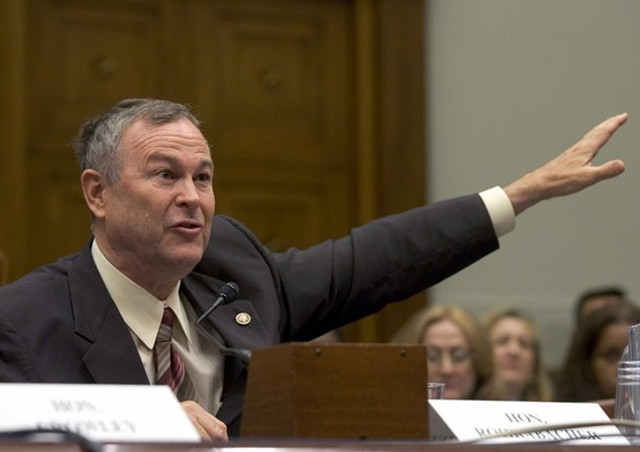 Republican House Representative Dana Rohrabacher believes that razing down rainforests will solve global warming.