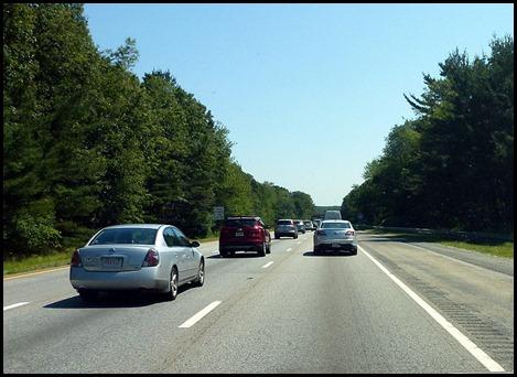 3 - I495 heavy traffic in Mass