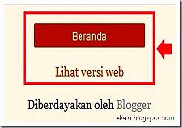 Tombol Navigasi Blog Seluler