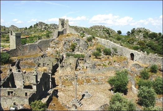 Marialva - Glória Ishizaka -  cidadela no interior da muralha 9