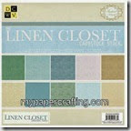 dcwv linen closet cardstock stack-200