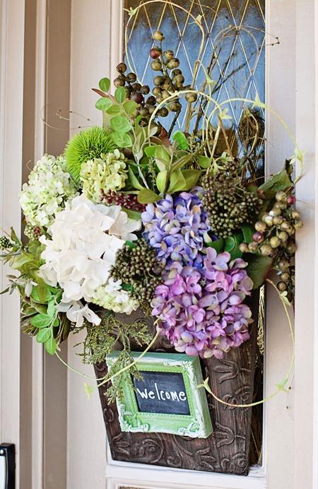 chalkboardframemagnetffrontdoor floral2