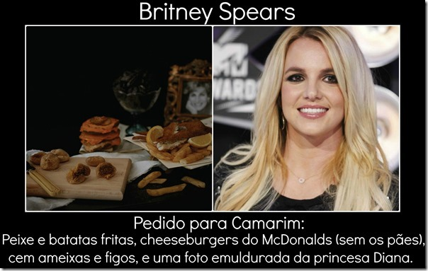 Britney e pedido