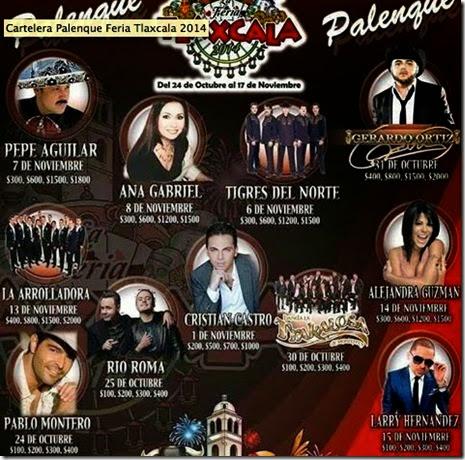 Venta de boletos palenque feria tlaxcala 2014