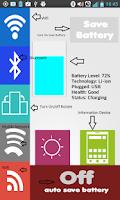Screenshot of Battery Saver