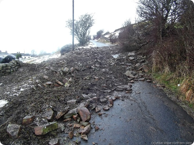 newbiggin high road landslip