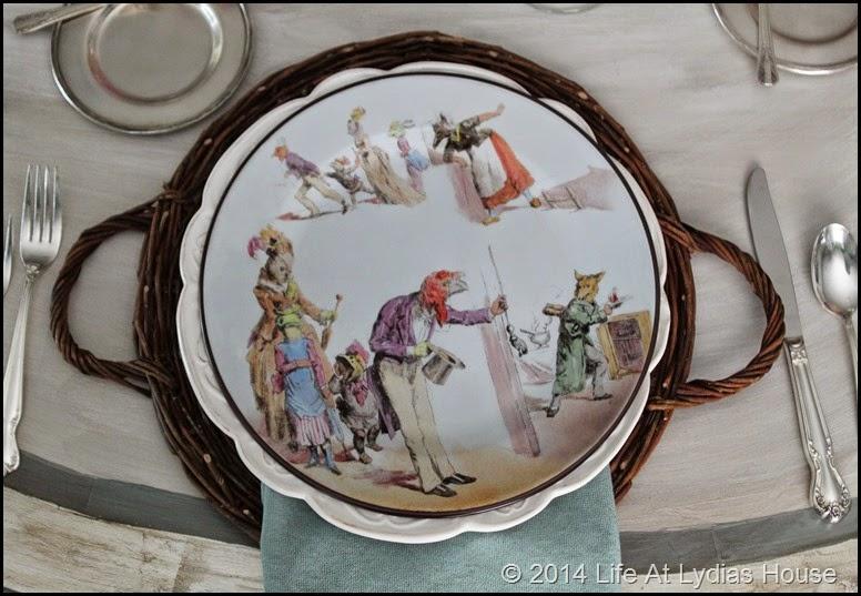 Parisian plate 6