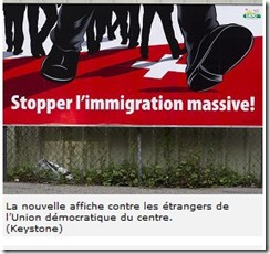 affiche immigration udc