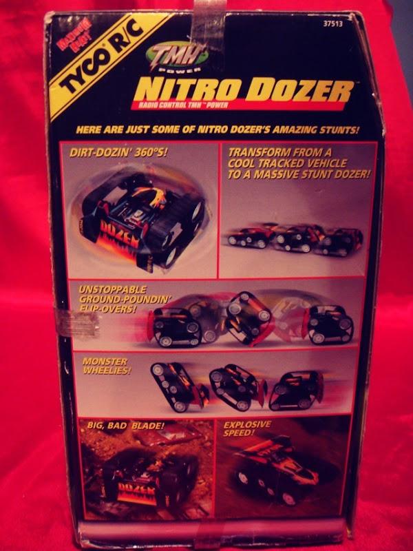 Nitro Dozer Remote Control Car Side