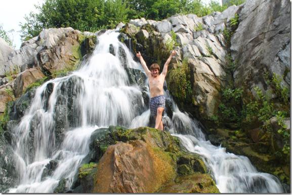 Стеблів, водоспад