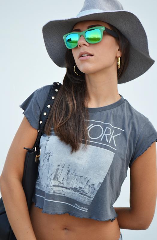 rayban mirror green occhiali da sole