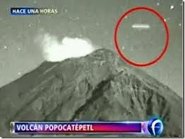 Popocatepetl. ufo