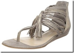 Dolce Vita Idalia Silver Tasseled Sandal