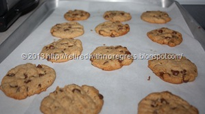 Simple Gluten-Free Chocolate Chip Cookies - from oven