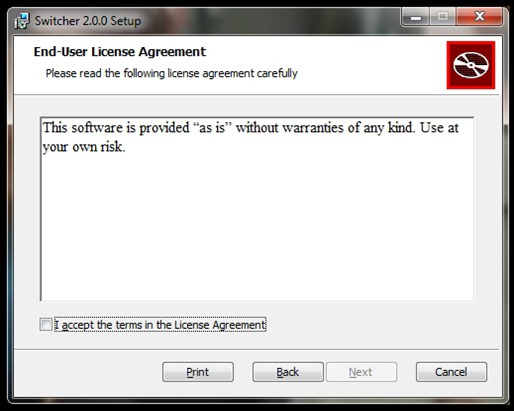 End User Licence Agreement