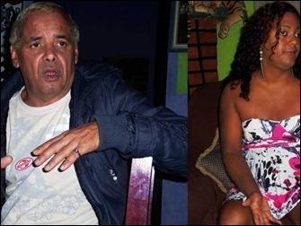 Kléber Cardoso e o travesti Alexsandro da Cruz