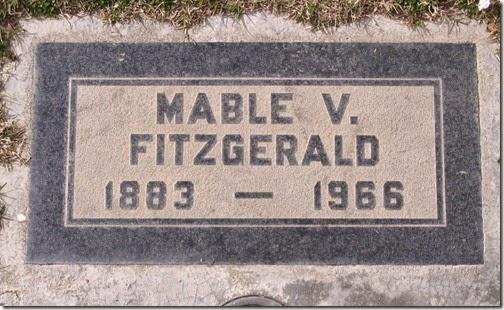 Mabel grave