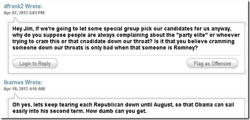 SantorumSupporterCommentsAgainstScruitny