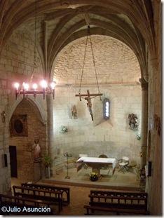 Interior iglesia San Martín de Artáiz - Izagaondoa - Navarra