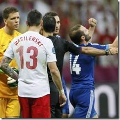Polonia 1-1 Grecia