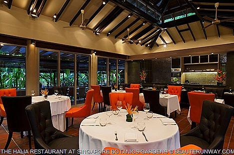 The Halia Restaurant Singapore Botanics Ginger Garden