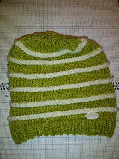 meine neue grüne Mütze