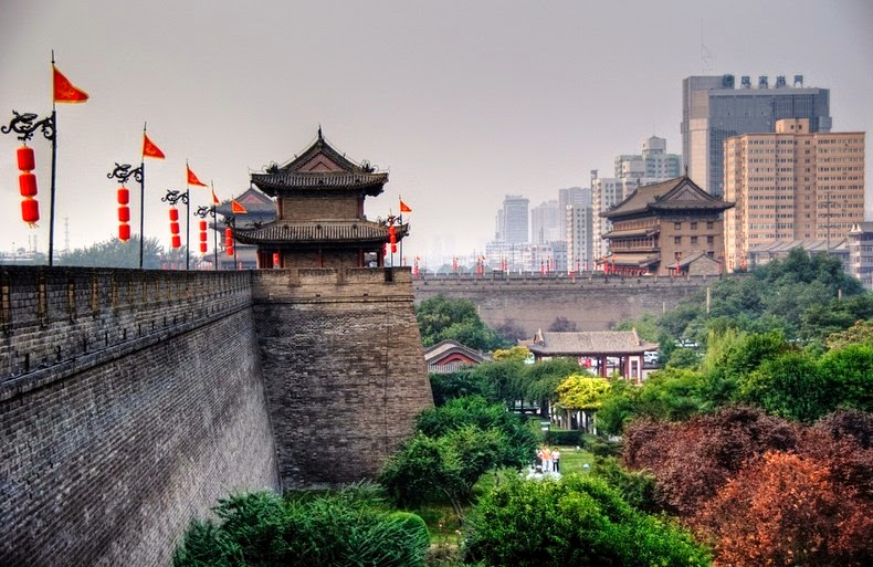 Image result for xi'an city wall