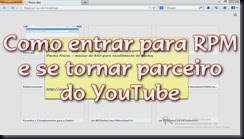 Como entrar na RPM network e tornar-se parceiro do YouTube