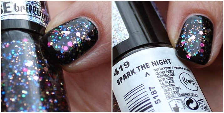 Maybelline Color Show be brilliant LE Swatches Spark the Night 05