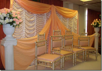 Simple Indian Wedding Stage Decorations