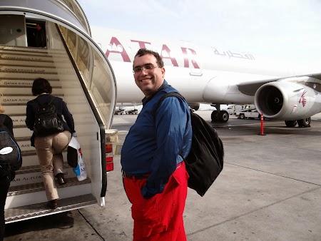 46. Qatar Airways, Doha - Bucuresti.JPG