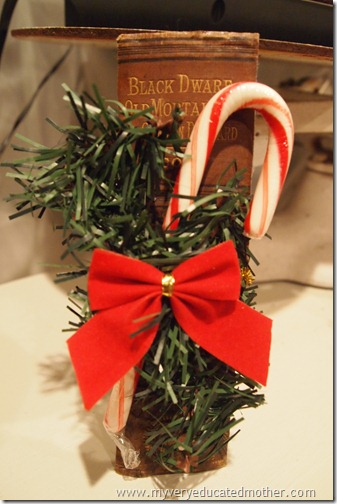 My Very Educated Mother: Book Spine Bookmark Christmas Favors