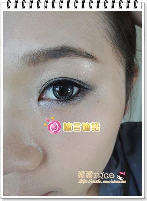 韓國NEO隱形眼鏡-Dali Heart心語灰10