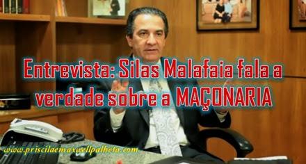 silas malafaia fala sobre maçonaria - Priscila e Maxwell Palheta