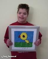 In 2007 worden de kunstwerken van de P-leerlingen o.a. geëxposeerd in het ziekenhuis te Hardenberg (3)