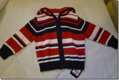 new born stripes jacket