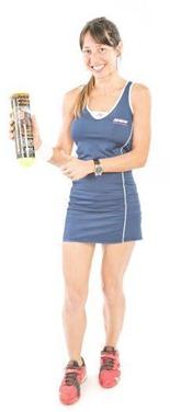 Nuria Rivas una de las mejores jugadoras nacionales.