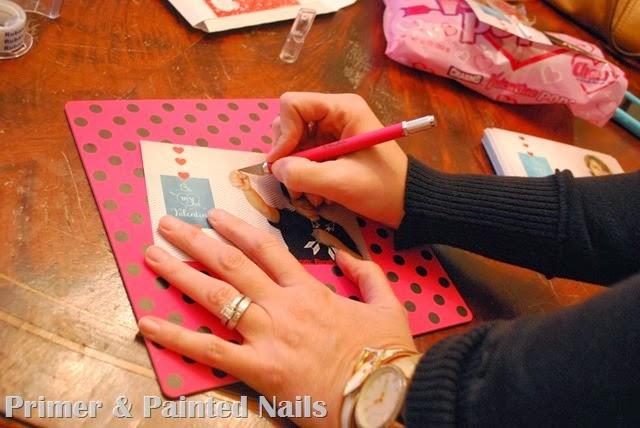 Exacto Knife - Primer & Painted Nails
