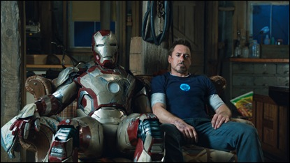 Iron Man 3  Tony Stark/Iron Man (Robert Downey Jr.)  Film Frame  ©Marvel Studios 2013
