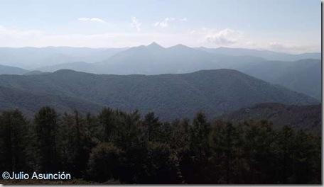 Parque natural de Bertiz - Panorámica desde Paretazar