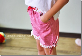 sew-tie-hem-girls-shorts