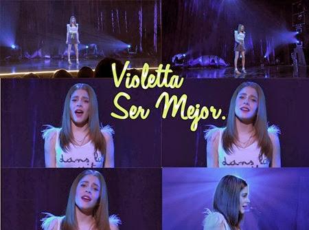 cântece violetta 2-ser mejor